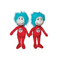 Thing 1 & Thing 2 Stuffed Figures