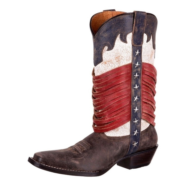 Durango Western Boots Womens Dream Catcher Narrow Square Brown