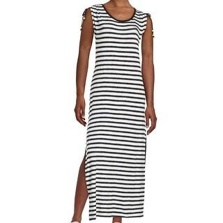 MICHAEL Michael Kors NEW Black Womens Size Small PS Petite Maxi Dress