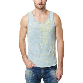 Buffalo David Bitton Mens Tank Top Distressed Graphic - XXL