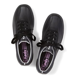 Keds Women's Spirit Sneaker - Black/Silver