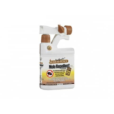 Liquid Fence HG-71666 Mole Repellent, Ready-To-Spray, 1 Qt