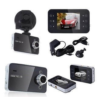 2.7 in. 1080p HD Car DVR with G-Sensor Night Vision, Multi
