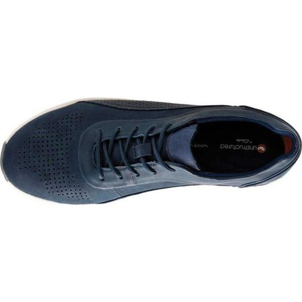 Un Cruise Lace Up Sneaker Navy Nubuck