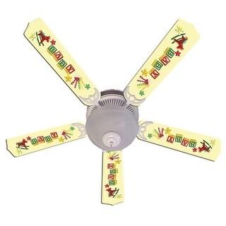 Shop Giraffe Print Blades 52in Ceiling Fan Light Kit Multi Free
