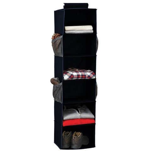 6-Shelf Sweater Organizer, Navy