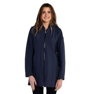 Save The Duck Lightweight Women's 3/4 Jacket In Navy