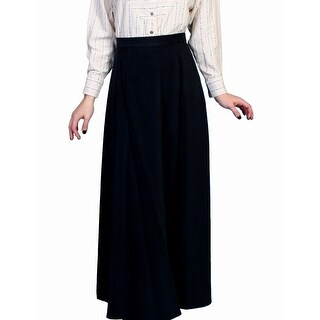 Scully Old West Skirt Womens Range Wear Cotton Long Vintage
