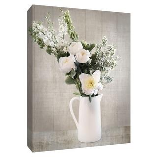 "PTM Images 9-148571  PTM Canvas Collection 10"" x 8"" - ""Farmhouse Bouquet I"" Giclee Flowers Art Print on Canvas"