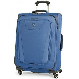 "Travelpro Maxlite 4 - Blue 25"" Polyester Fabric Expandable Spinner w/ Water Resistant Coating"