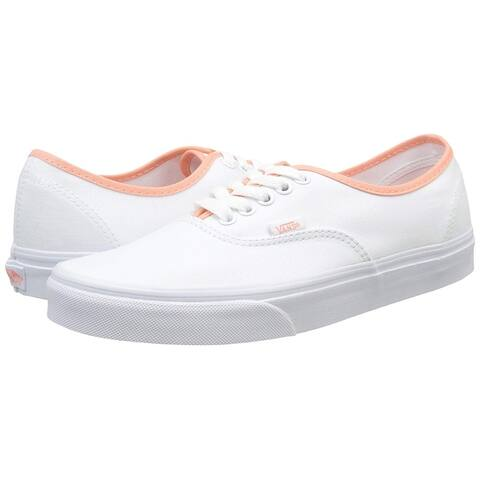 Vans Womens POP BINDING Low Top Lace Up Fashion Sneakers