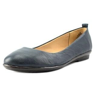 Easy Spirit e360 Kimera W Round Toe Leather Flats