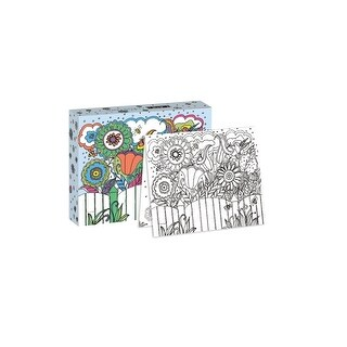 Garden of Color Boxed Coloring Cards, Gardens by Lang Companies