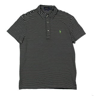 Polo Ralph Lauren Mens Polo Shirt Knit Striped - M