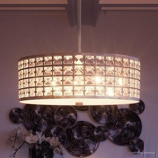 Shop luxury crystal chandelier 8h x 2175w with metropolitan luxury crystal chandelier 8h x 2175w with metropolitan style aloadofball Gallery