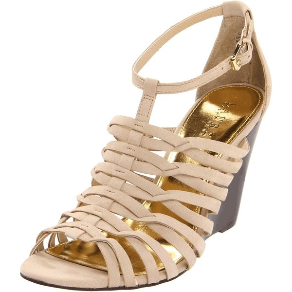Lauren Ralph Lauren Women's Damalise Wedge Sandal - 10