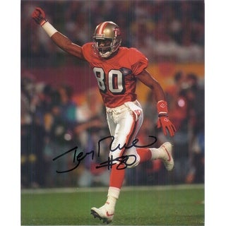 Signed Rice Jerry San Francisco 49ers 8x10 Photo autographed