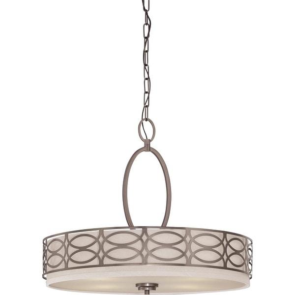 """Nuvo Lighting 60/4726 4 Light 23-5/8"""" Wide Chandelier - hazel bronze"""
