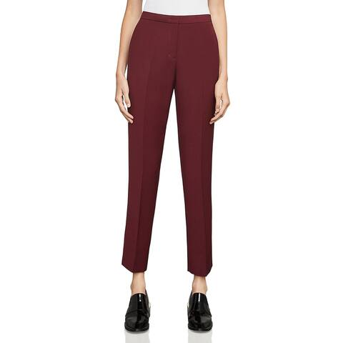 BCBG Max Azria Womens Tarik Dress Pants Knit Straight Leg
