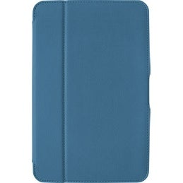 Verizon Folio Case, Screen Protector and Stylus Pen Bundle for Ellipsis 10 - Blu
