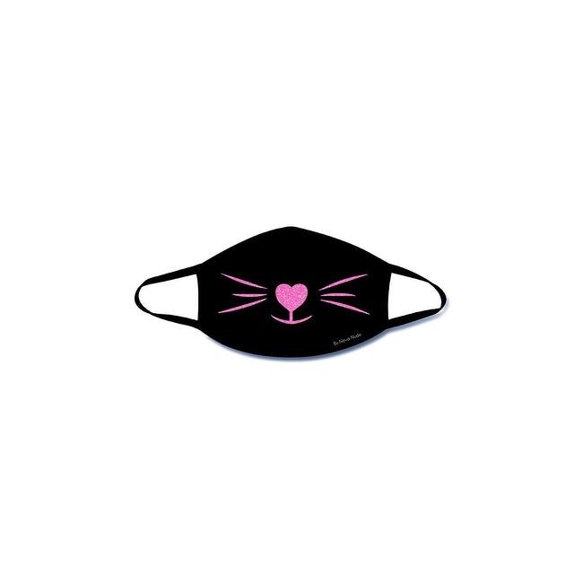 Meowza Black Light Face Mask - One Size Fits Most