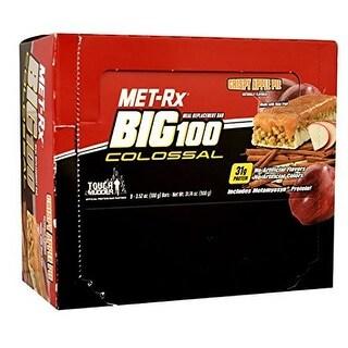 MET-Rx Big 100 Colossal Apple Pie (Box of 9)