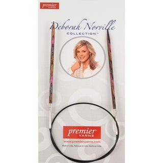 "Deborah Norville Fixed Circular Knitting Needles 32""-Size 15 - size 15/10mm"