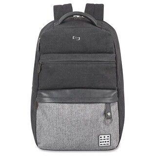 Solo Urban Code Backpack, Black-Gray Urban Code Backpack