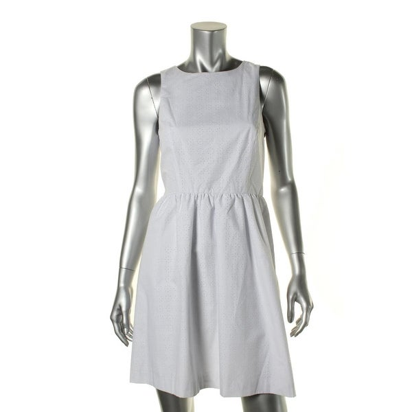 Kensie Womens Casual Dress Cut-Out Sleeveless