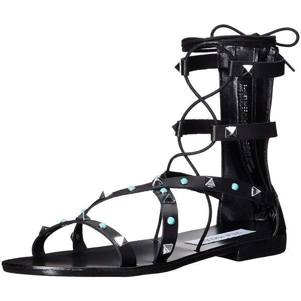 Free Steve Shop On Madden Gladiator Sunner Shipping Women's Sandal CodBWrxe