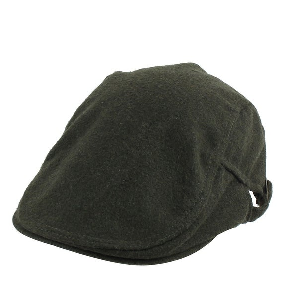 d06ef38af0d Winter Warm Newsboy Duckbill Ivy Cap Driving Golf Flat Beret Hat Army Green