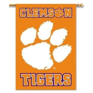Clemson University Tigers 2-Sided House Flag/Banner
