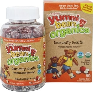 Yummi Bears Organics - Immunity Health Gummies ( 1 - 90 CT)
