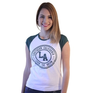 Soffe LA Living The Dream Women's White T-shirt (Option: L)