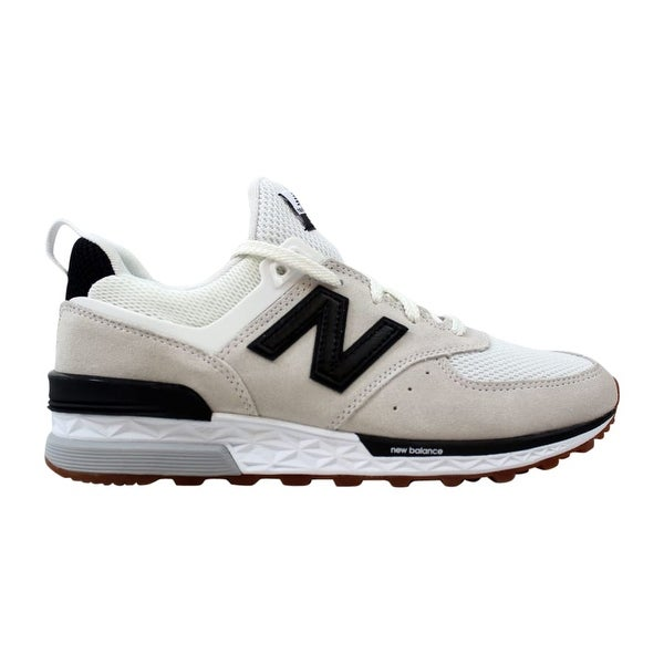 100% authentic 9da12 15f03 Shop New Balance 574 Sport Nimbus Cloud/Black-White MS574FBW ...