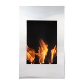 Bio Flame Xelo Xelo Bio-Ethanol Fireplace - STAINLESS STEEL