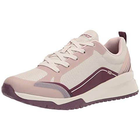 Skechers BOBS Women's BOBS Squad 3 Sneaker, Blush