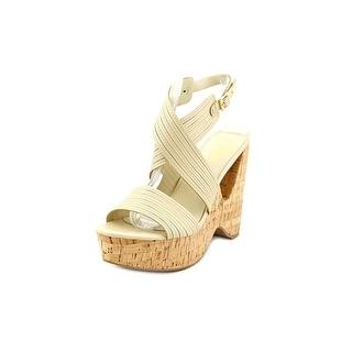 Fergie Alive Open Toe Synthetic Wedge Sandal