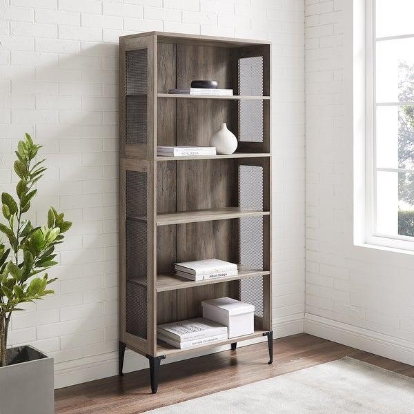 Carbon Loft 68-inch Tall Mesh Side Panel Bookshelf. Opens flyout.