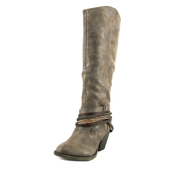 Jellypop Demi Women Round Toe Synthetic Mid Calf Boot