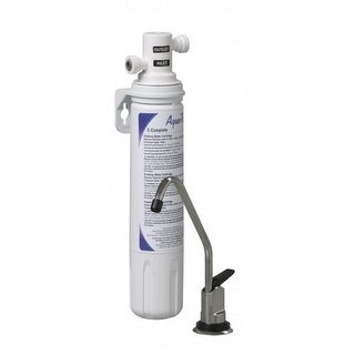 AquaPure Complete 0.75 GPM Under Sink Water Filtration System - Faucet Included - N/A