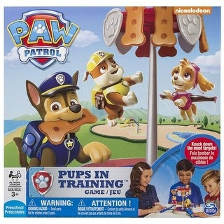 Paw Patrol Pups In Training