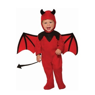 Forum Novelties Daring Devil Toddler Costume - Red/black