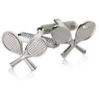 Tennis Tennis Raquets Sports Athlete Cufflinks