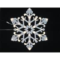 Winterland WL-STAR-24-LWW 24 ft. Snowflake With Warm White LED Lights