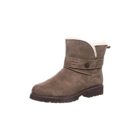 "Bearpaw Casual Boots Womens Wellston 5"" Shaft Split Collar"