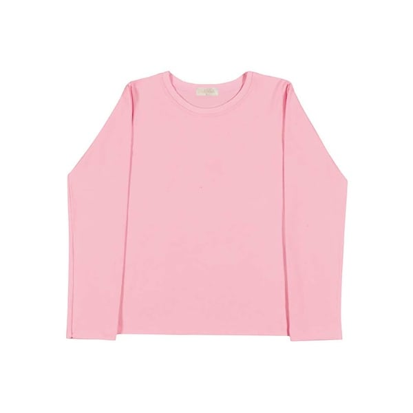 Girls Long Sleeve T-Shirt Classic Tee Kids Clothing Pulla Bulla Sizes 2-10 Years