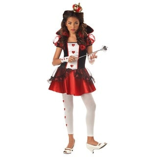 California Costumes Queen of Hearts Tween Costume - Black/Red
