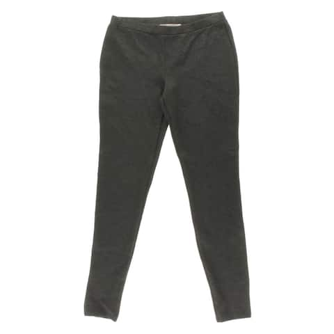 Joie Womens Leggings Heathered Stretch - Heather Charcoal - M