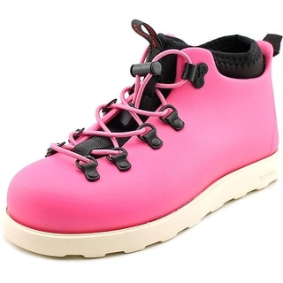 Native Fitzsimmons Youth Round Toe Synthetic Pink Hiking Boot